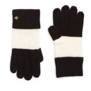 Kate spade striped gloves